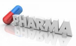 Pharma Medicine Pill Capsule Pharmaceutical Industry 3d Illustration